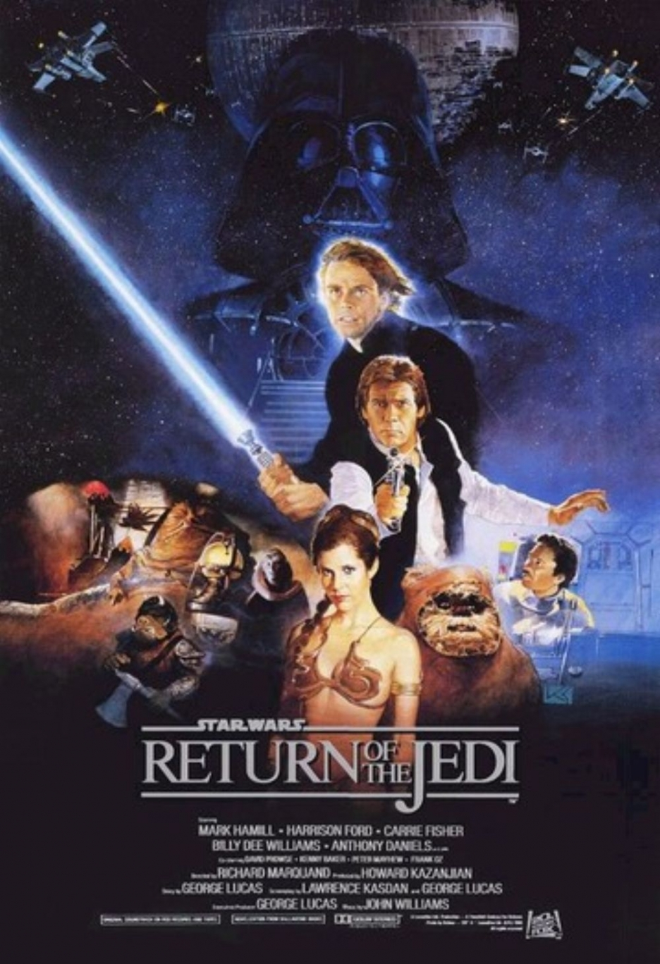Star Wars Episode 6 Return Of The Jedi 1983 Review The Cinema Critic