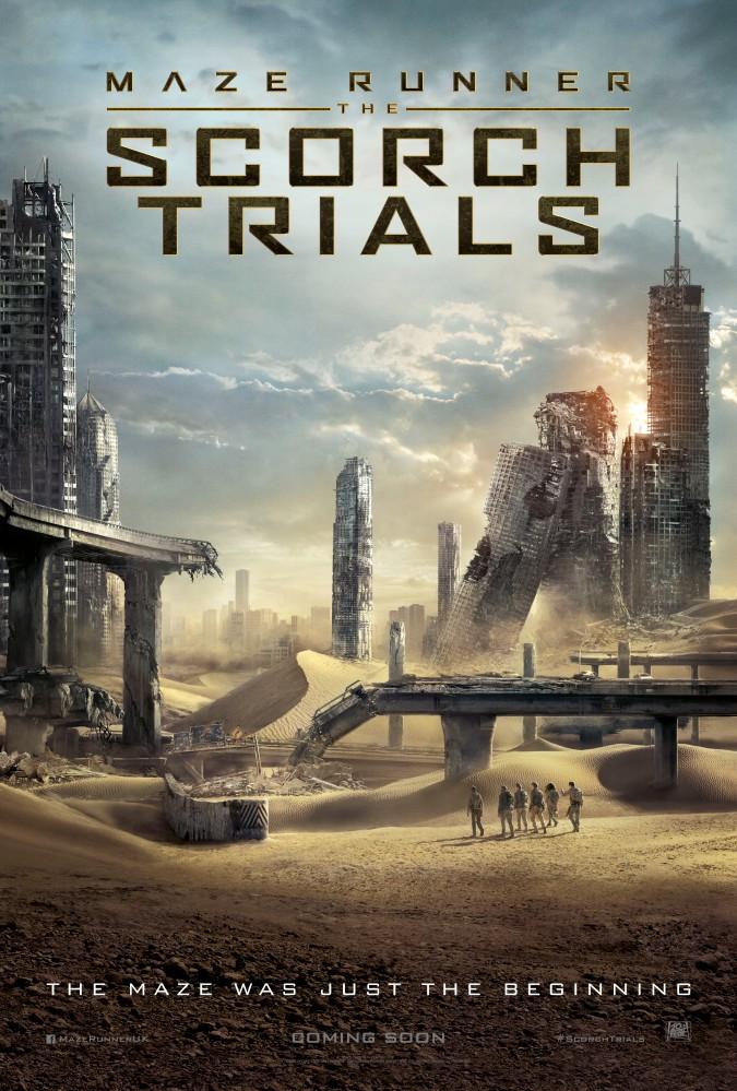 Maze Runner; The Scorch Trials
