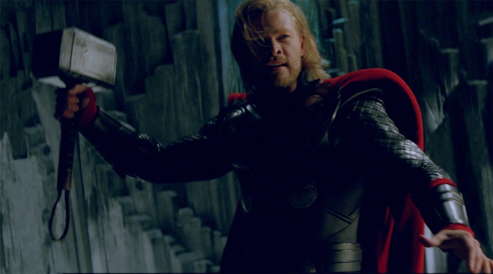 Photo credit: Courtesy of Paramount Pictures / Marvel StudiosThor (Chris Hemsworth) in THOR, from Paramount Pictures and Marvel Entertainment. © 2011 MVLFFLLC. TM & © 2011 Marvel. All Rights Reserved.