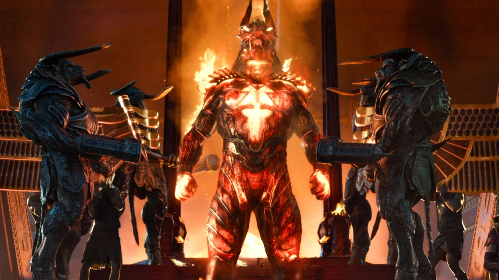 Undated Film Still Handout from Gods of Egypt. See PA Feature FILM Reviews. Picture credit should read: PA Photo/Entertainment One. WARNING: This picture must only be used to accompany PA Feature FILM Reviews.