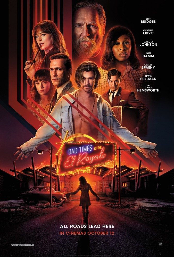 bad times at the el royale 2018 review the cinema critic. Black Bedroom Furniture Sets. Home Design Ideas