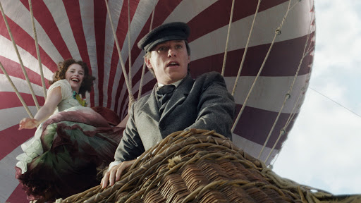 Felicity Jones and Eddie Redmayne star in The Aeronauts