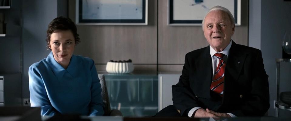 Kadry z filmu The Father