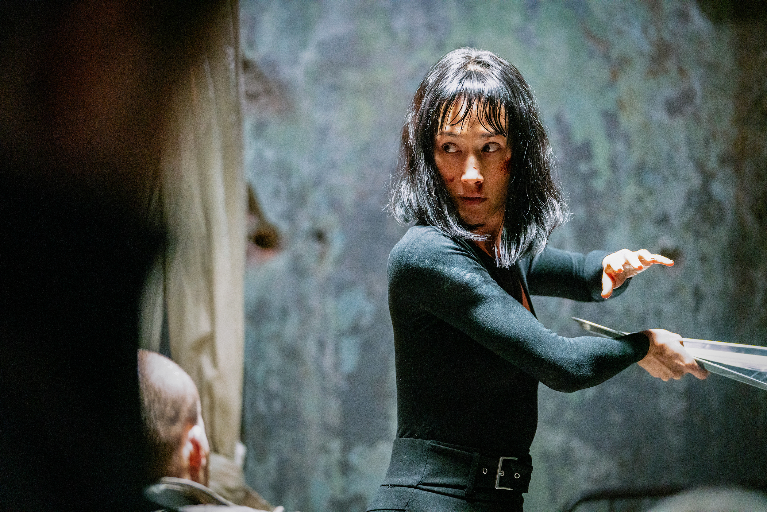 Maggie Q stars as Anna in the new film, T Protégé.