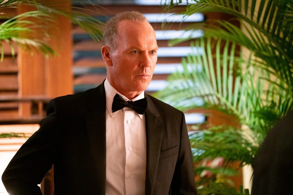 The Protégé Michael Keaton as Rembrandt